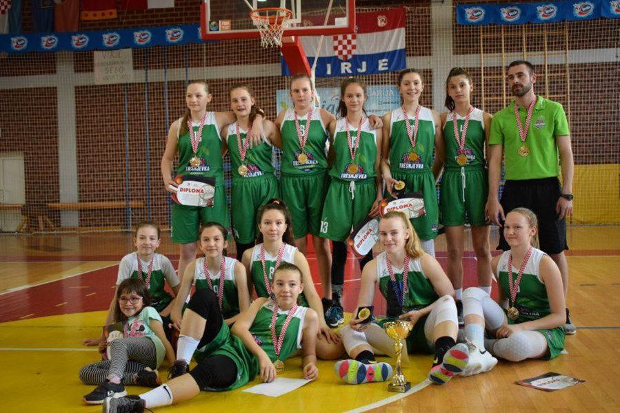 Trešnjevka 2009 uzela naslov PH i u U13 kategoriji djevojčica